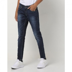 SPYKAR Washed Skinny Jeans with Whiskers