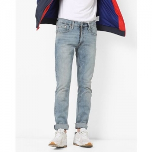 LEVIS 65504 Heavily Washed Skinny Fit Jeans