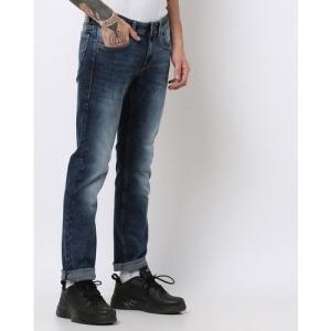 FLYING MACHINE Mid-Wash Skinny Jeans