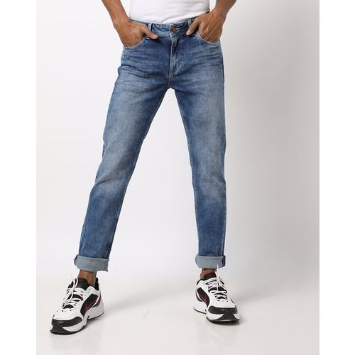 Killer Washed Skinny Jeans with Whiskers