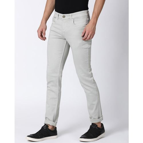 LLAK JEANS Mid-Rise Skinny Fit Jeans