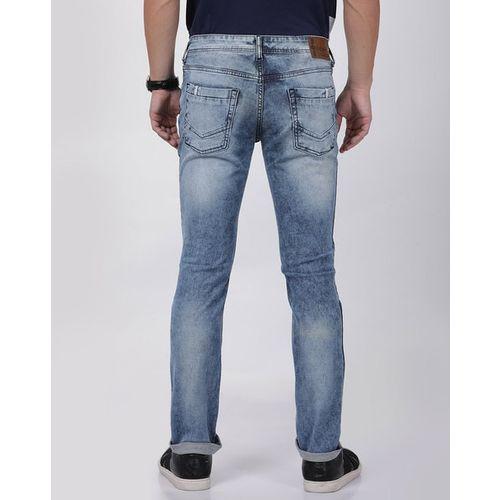 LLAK JEANS Acid Wash Skinny Fit Jeans