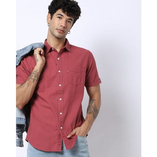LEVIS Textured Shirt with Patch Pocket