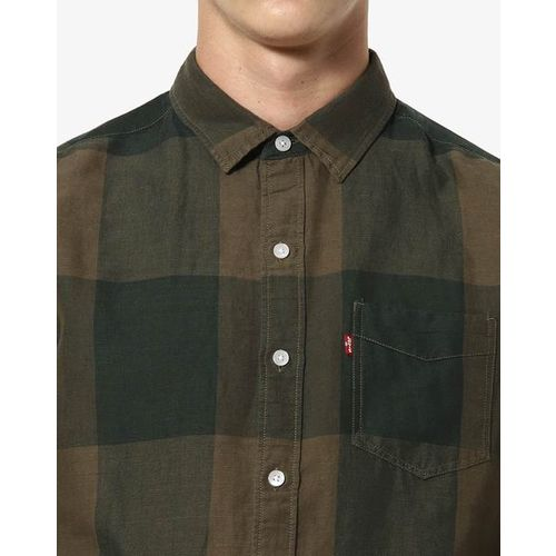 LEVIS Checked Slim Fit Shirt with Patch Pocket