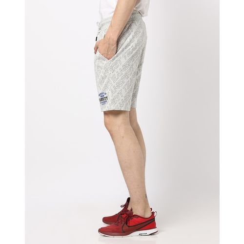 Teamspirit Slim Fit Mid-Rise Shorts with Side Pockets