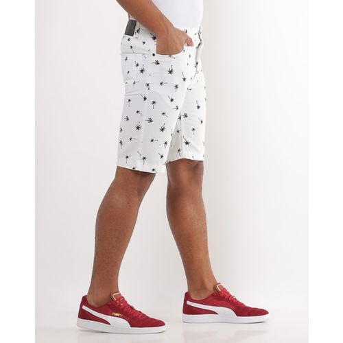 INDIAN TERRAIN Novelty Print Slim Fit Low-Rise Shorts
