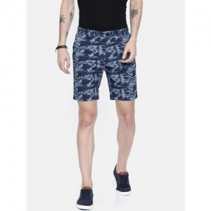 BREAKBOUNCE Floral Slim Fit Shorts