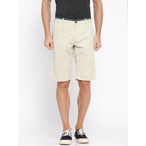 SHOWOFF Geometric Slim Fit Shorts