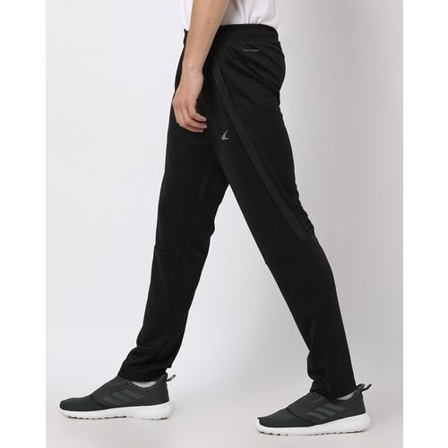 PERFORMAX Panelled Track Pants with Elasticated Drawstring Waist