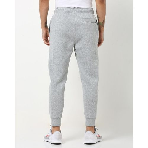 NIKE Heathered Joggers with Elasticated Drawstring Waist