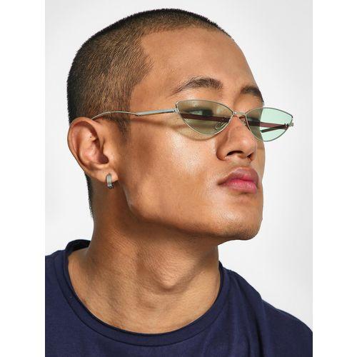 KOOVS Sleek Tinted Lens Retro Sunglasses