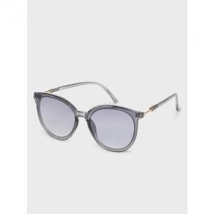 KOOVS Coloured Frame Round Sunglasses