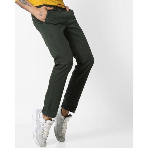 Hubberholme Slim Fit Flat-Front Chinos