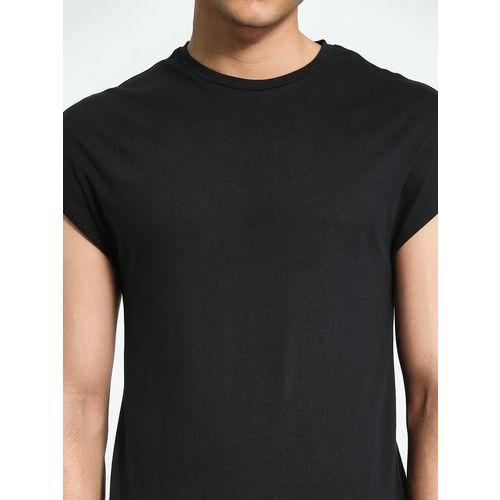 KOOVS Longline Cap Sleeve T-Shirt