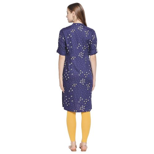 Rangmanch by Pantaloons printed straight kurta