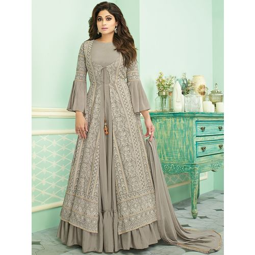 Styl View embroidered suits unstitched suit