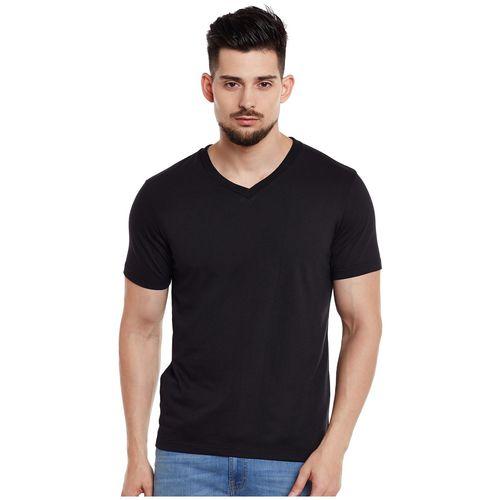 VIMAL JONNEY Men Multi Slim fit Cotton V neck T-Shirt - Pack Of 2 by Mack Hosiery