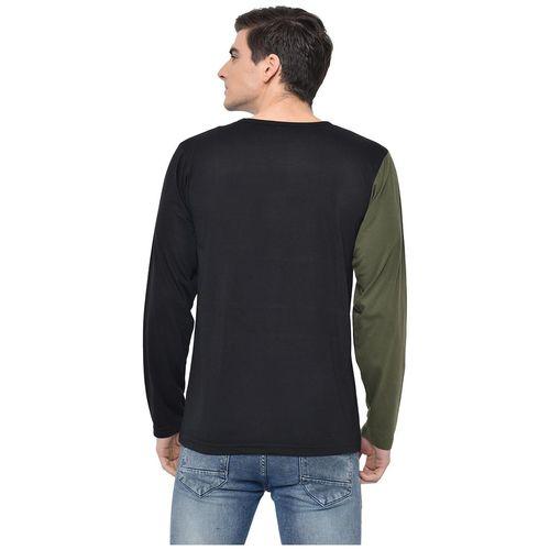 VIMAL JONNEY Men Multi Regular fit Cotton Blend Round neck T-Shirt - Pack Of 2 by Mack Hosiery
