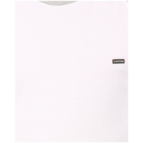 Wexford Men White Regular fit Cotton Round neck T-Shirt - Pack Of 1 by Ahill Fashion Textiles Incorporation