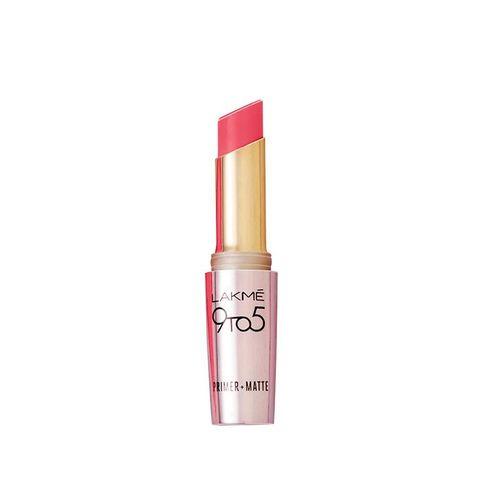 lakme 9 to 5 primer matte lip color, blush book mp19, 3.6g