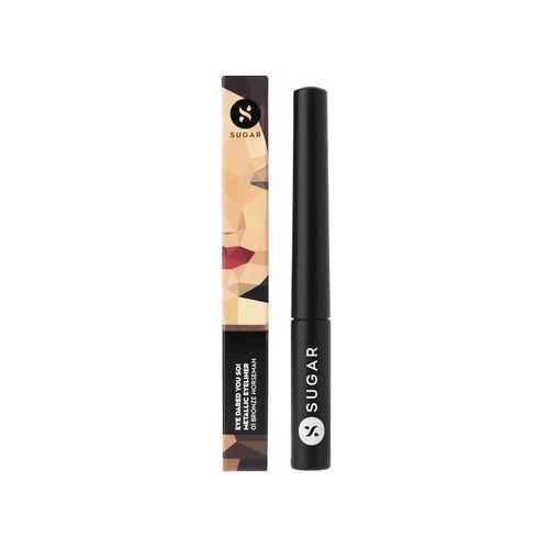 SUGAR Cosmetics sugar eye told you so! smudgeproof eyeliner - 01 black swan (black)