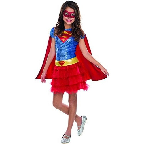 Rubie's Blue & Red Superheroes Supergirl Costume