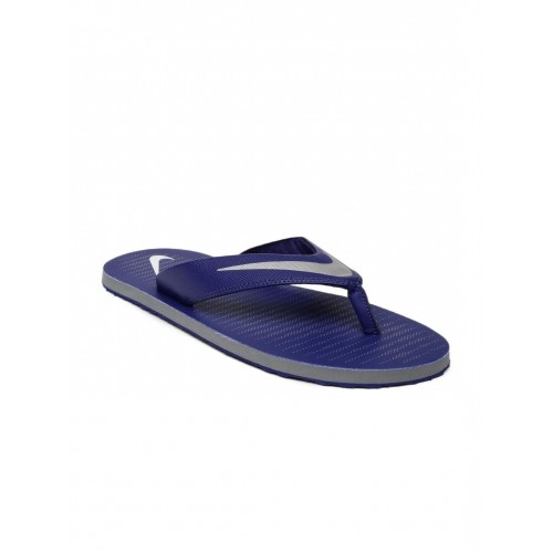 Nike Men Blue Printed Chroma Flip-Flops