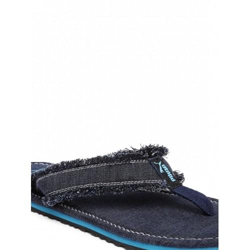 PUMA Navy Blue RogerDP Flip-Flops