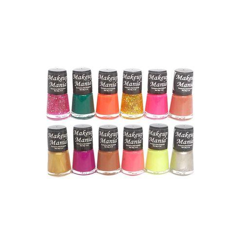 C.A.L Los Angeles makeup mania exclusive nail polish set of 12 pcs (multicolor set # 83)
