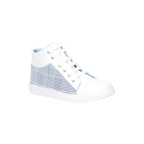 FASHIMO white lace-up sneakers
