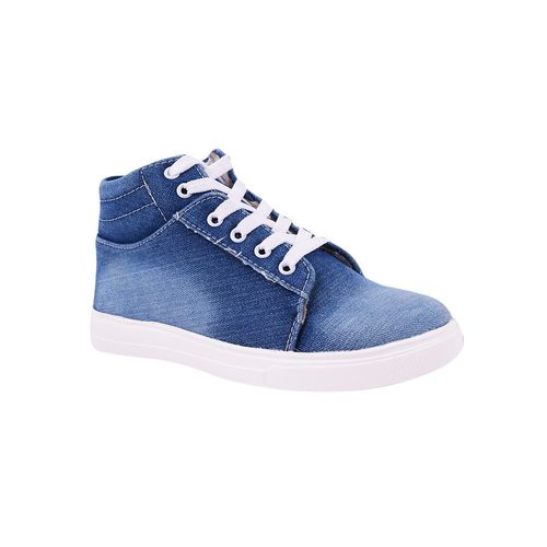 Furiozz blue lace-up sneakers