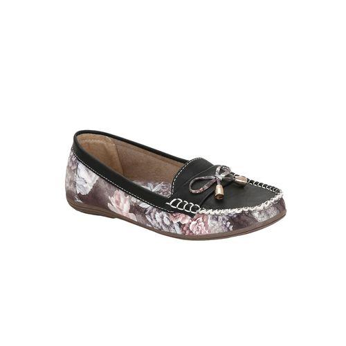 GET GLAMR black boo mocassins loafer