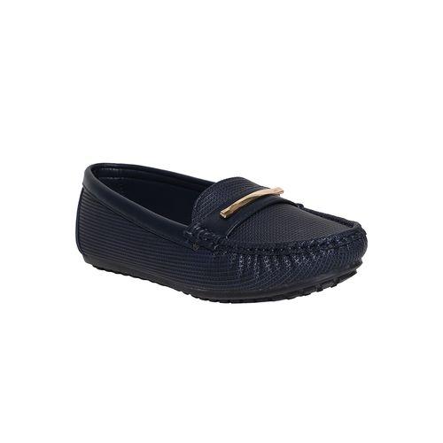 KetImporta blue slip on loafers