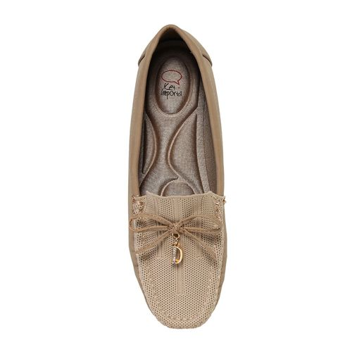 KetImporta brown leatherette slipon loafers