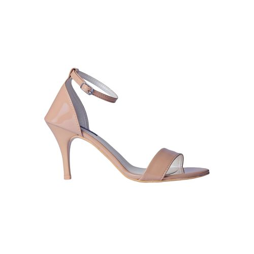 MSC beige ankle strap sandals