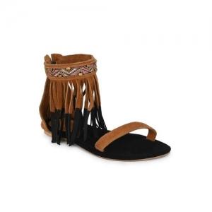 Aady Austin tan gladiators sandals