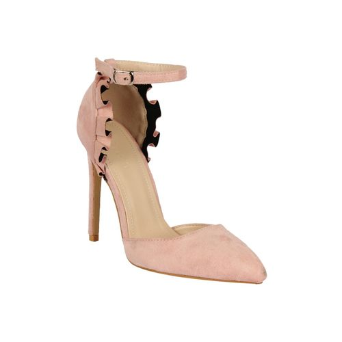 NOTION LONDON pink closed back sandals
