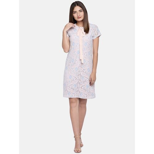 Globus tie knot floral sheath dress