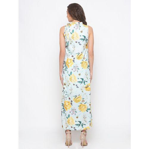 Globus mock neck floral maxi dress
