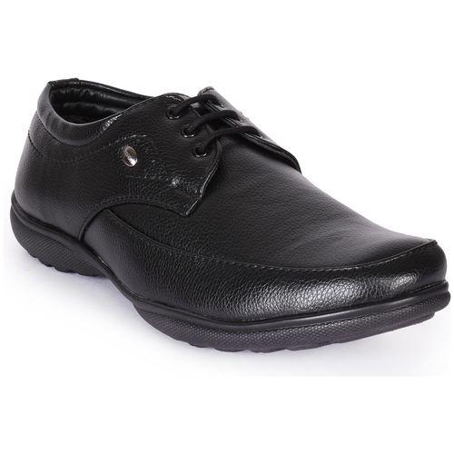 Buy Action Men Black Derby Formal Shoes