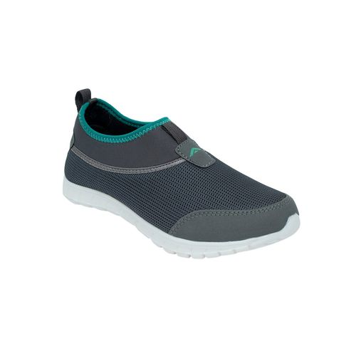 asian grey slip on sports shoes