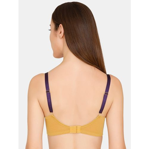 Zivame bow patch flora laced push up bra