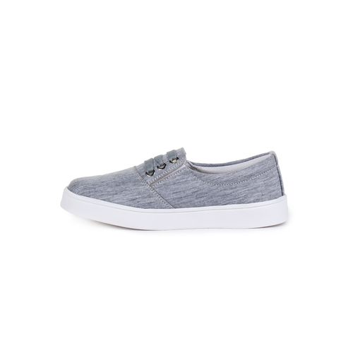 Sapatos grey slip on casual shoes