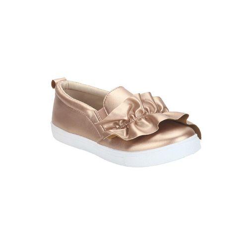 Estatos gold plimsolls casual shoe