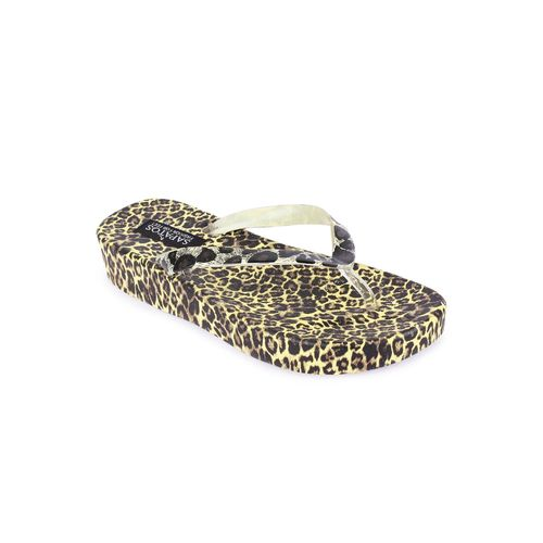 Sapatos yellow pvc slippers flip flops