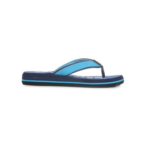 AHA By Liberty blue toe separator flat slippers