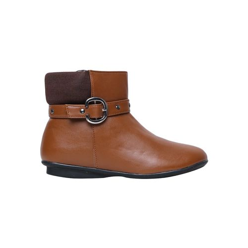 Bruno Manetti tan ankle boots