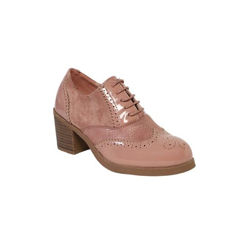 KetImporta pink lace-up boots