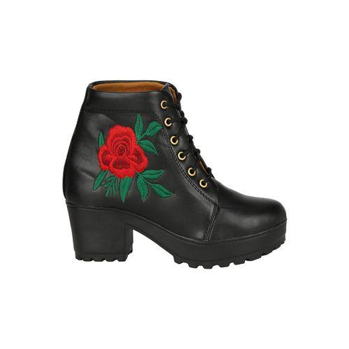 COMMANDER SHOES black ankles boot