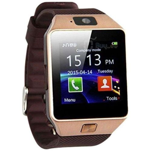 Captcha DZ09 Bluetooth Smartwatch With Camera & SIM Card Support Compatible With All SmartPhones by Mac Traders